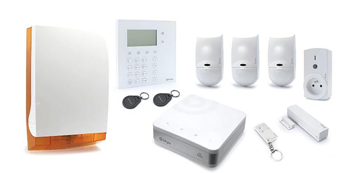 Alarme filaire ou alarme sans-fil
